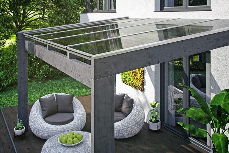 La pergola bois : l'abri terrasse qui apporte du cachet !